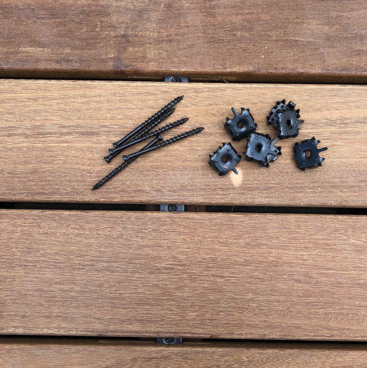Picture of: Dextor Deck Lock Skjulte Rustfri Terrassebeslag